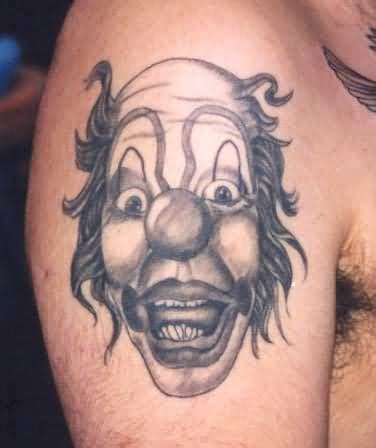 joker tattoo shoulder clown joker tattoo on shoulder