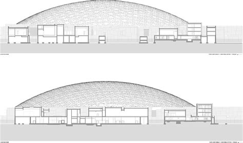 louvre museum sections jean nouvel s louvre abu dhabi released in new images