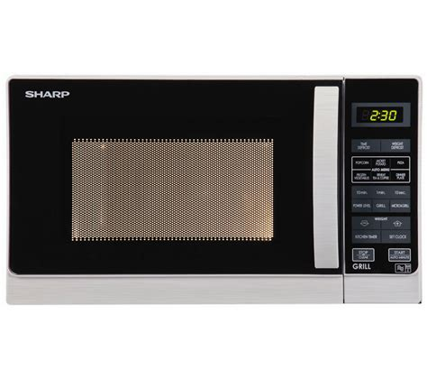 Microwave Grill Sharp buy sharp r662slm microwave with grill silver free delivery currys