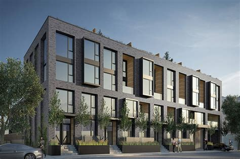 2 Story Garage Plans With Apartments by The Top 5 New Townhouse Projects In Toronto