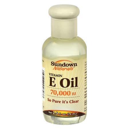 Produk Istimewa Sundown Naturals Vitamin E Vitamin E 75 Ml sundown naturals vitamin e 70000 iu walgreens