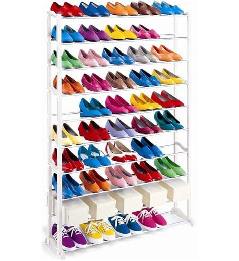 shoe storage 50 pairs shoe rack or closet organizer 50 pairs of shoes in shoe