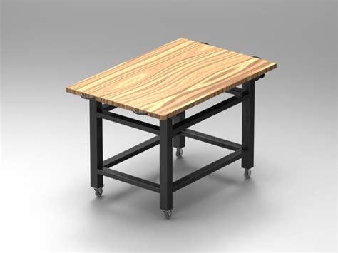 banchi da lavoro in legno banco da lavoro mobile con piano in legno srl sale