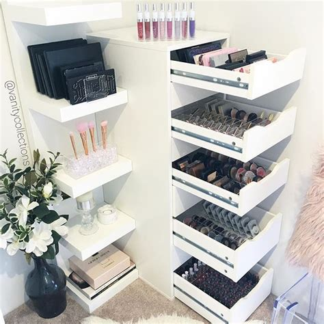 makeup organizer ikea best 25 ikea makeup storage ideas on pinterest room