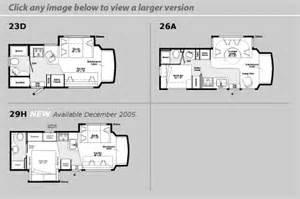 class c floor plans 2006 winnebago aspect class c rvweb com