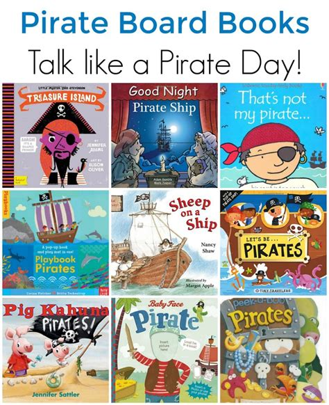 pirate picture books pirate board books for toddlers and preschoolers the