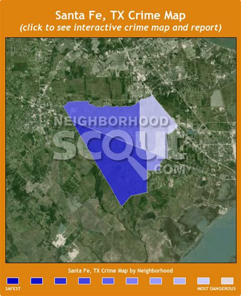 santa fe texas map santa fe tx crime rates and statistics neighborhoodscout