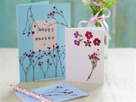 make a easter card how to make easter cards with flowers