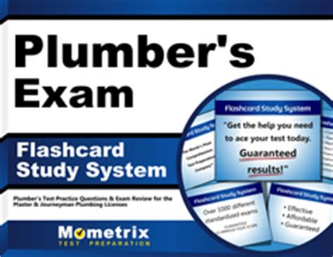 Plumbing Test Questions by Best Plumber S Test Flashcards With Plumber Practice Questions