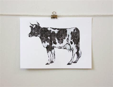 cow room decor classic cow contemporary minimal room decor by themicromentalist 8 50 h o m e