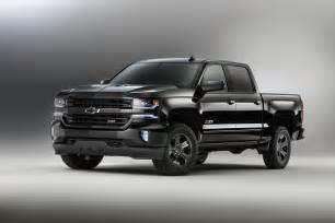 chevrolet trucks back in black for 2016 kupper