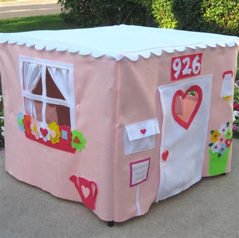 card table playhouse pink tablecloth playhouse card table playhouse tent