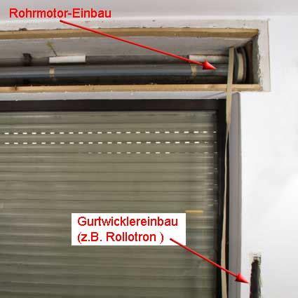 automatische rollladen rollladenantrieb mit gurtwickler