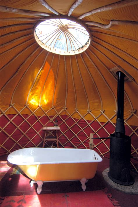 Yurt Shower by 1000 Images About Yurt Living On Yurts