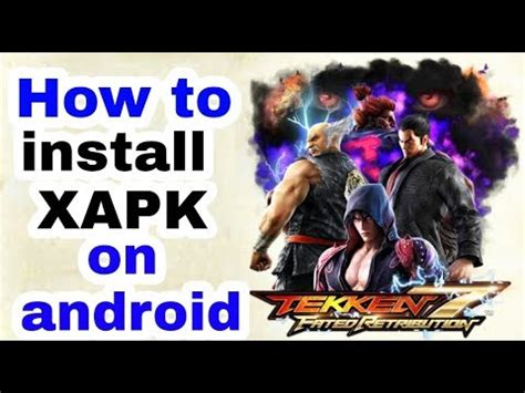 how to install xapk file on android.2018 :how to open xapk