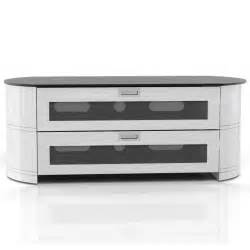 furniture immaculate white painted wood corner tv stand