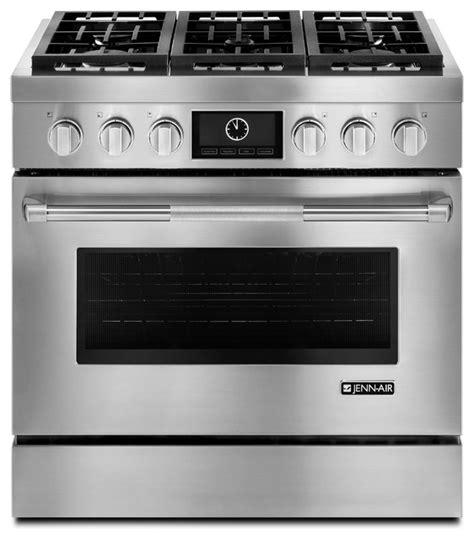 jenn air kitchen appliances reviews jenn air 36 quot pro style dual fuel range stainless steel