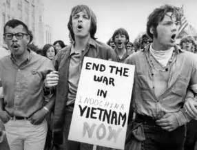 Interview highlight the hippie movement and the vietnam war