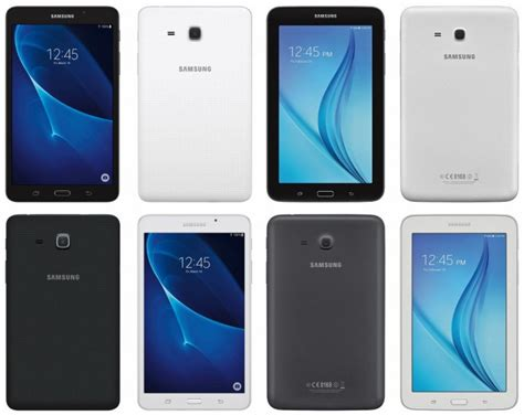 Harga Samsung Galaxy Tab A6 Gsmarena upcoming 7 inch galaxy tab a and galaxy tab e portrayed in