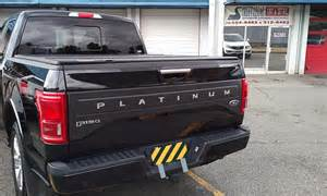 platinum tailgate and pillars wrapped ford f150 forum