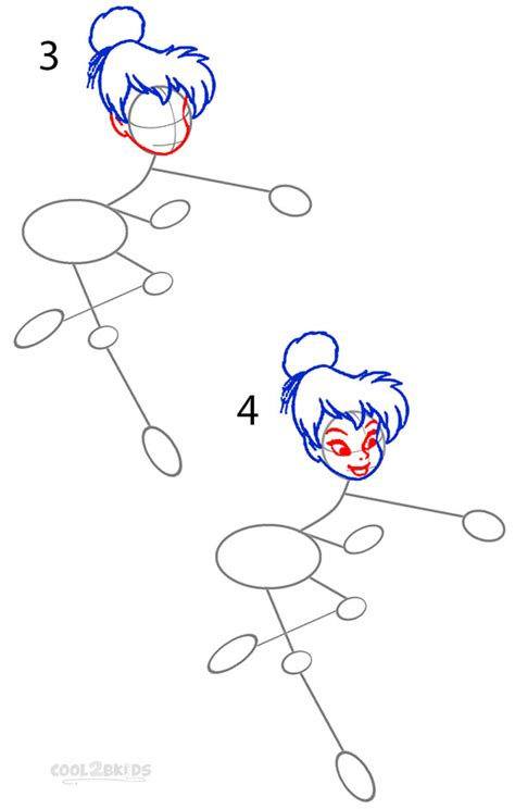 how to do doodle step by step how to draw tinkerbell step by step pictures cool2bkids