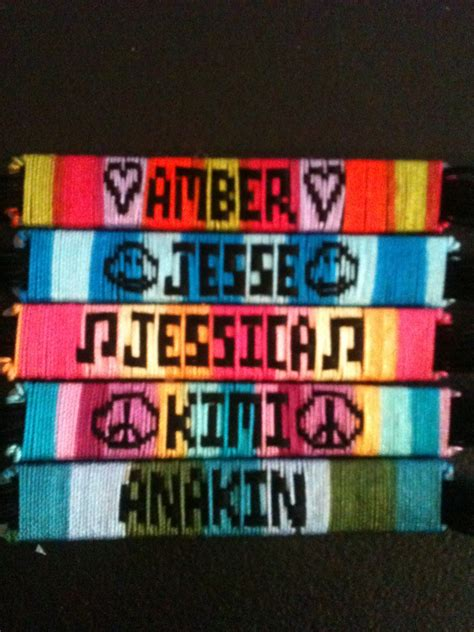handmade mexican string bracelet with names best