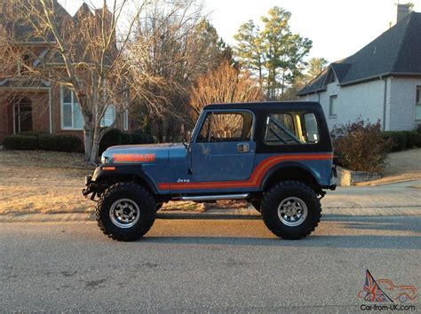 cj jeep lifted 1986 jeep cj7 renegade original paint unrestored cj super