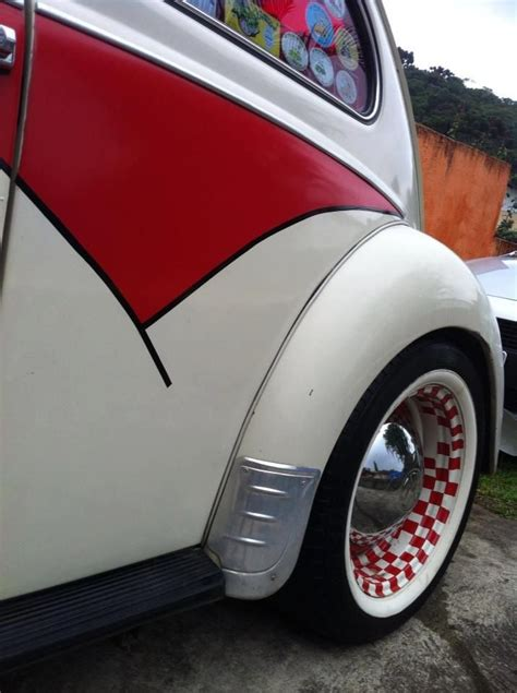 volkswagen bug wheels vw beetle checkered rims volkswagen beetle pinterest