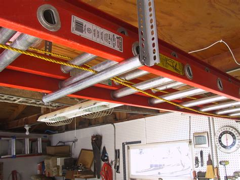 Ladder Storage Racks For Garage by Creative Product Inovations Llc