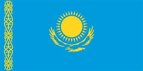 flags of the world kazakhstan kazakh flag flag of kazakhstan