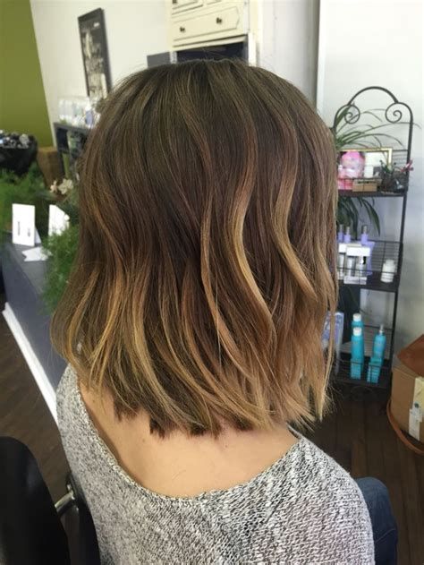 messy bob haircuts with ombre 17 best images about hair styles on pinterest wavy hair