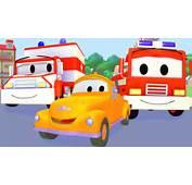 Tom La D&233panneuse Et Le Camion De Pompier Taxi Ambulance