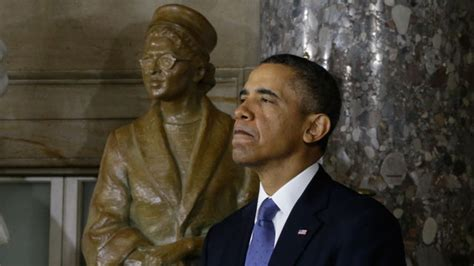 biography ni barack obama rosa parks statue unveiled at the capitol abc news