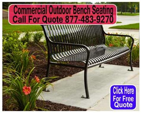 commercial outdoor bench seating shopping commercial outdoor seating what are the options