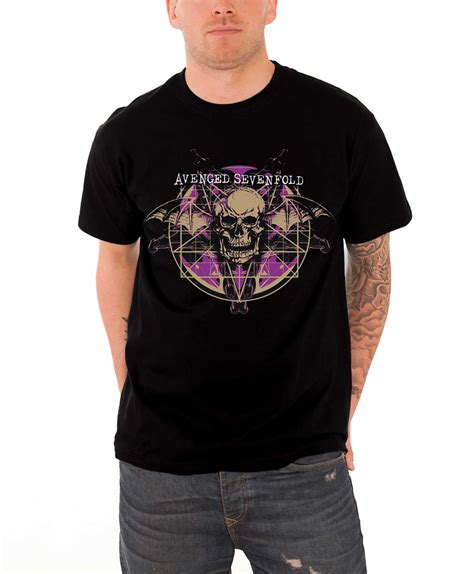 Kaos Band Avenged Sevenfold Merchendise Official 15 avenged sevenfold t shirt the stage band logo a7x bat nightmare official ebay