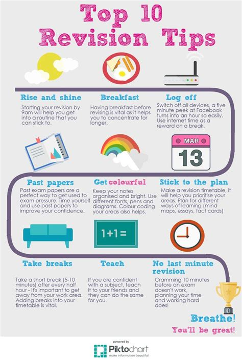 10 Tips On How To An by The 17 Best Images About Revision Tips On