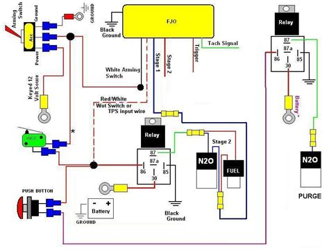 nitrous wiring diagram nitrous free engine image for