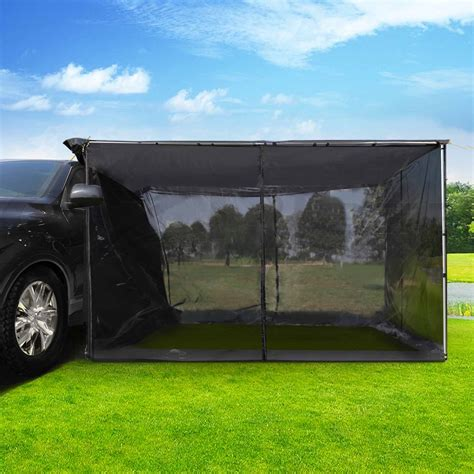 side awning for 4x4 2 5x3m car side awning with fly mesh net mountable tent