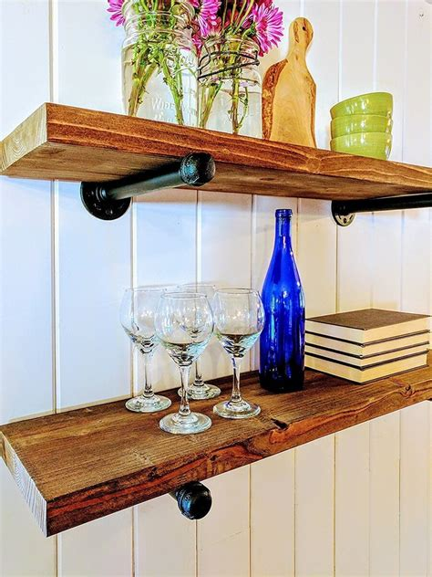 industrial floating shelves floating shelves insteading