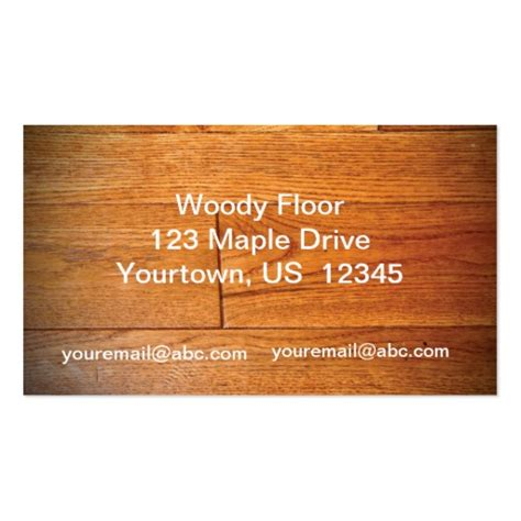 hardwood flooring business card template hardwood floor business card zazzle
