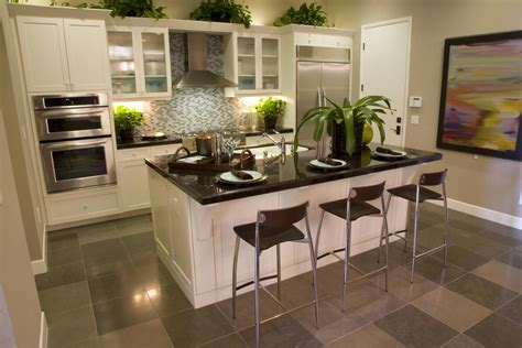 galley kitchen design with island 39 fabulous eat in custom kitchen designs