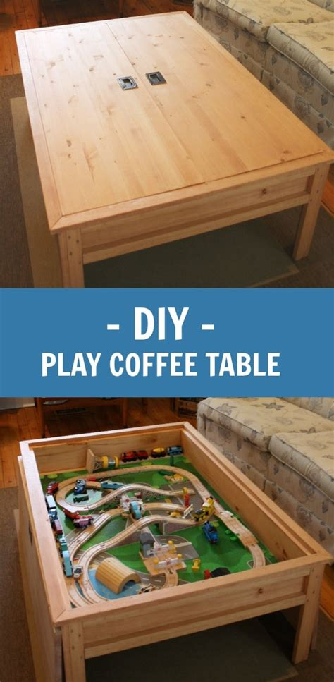 ana white moms train table  version diy projects