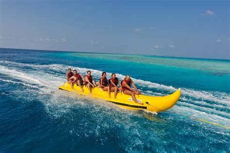 banana boat ride mauritius water sports in mauritius the destination for water
