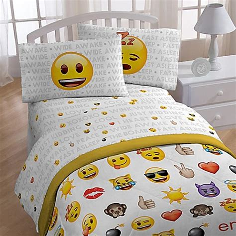 Bed Emoji by Emoji Sheet Set Bed Bath Beyond