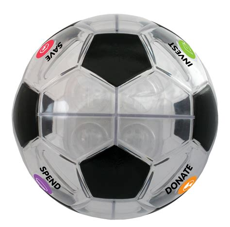 Soccer Giveaways - money savvy soccer ball teaching kids about money giveaway