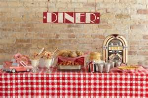 themed decoration ideas picture of 50 s retro theme ideas