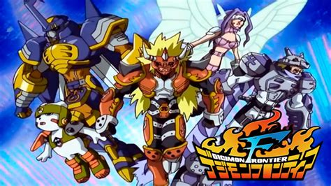 digimon tamers original opening hd digimon frontier 1st opening fire espa 241 ol youtube