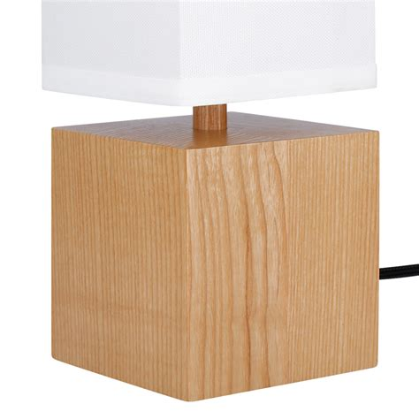 Rectangular Table L Shade by New Vintage Table L Wood Bedside White Rectangular