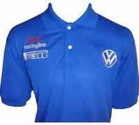 Polo Shirt Vw Racing race car jackets vw volkswagen racing polo shirt blue