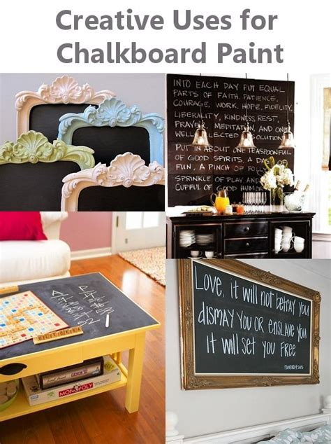 diy chalkboard painting creative uses for chalkboard paint crafts